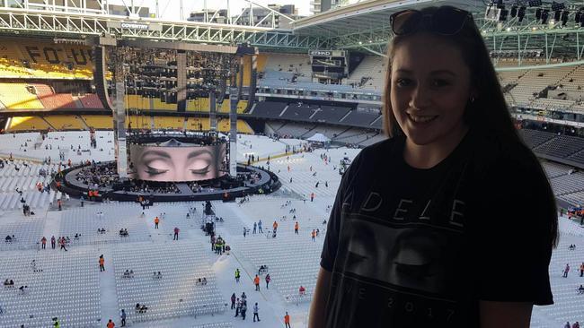 Adele concert dates in Melbourne