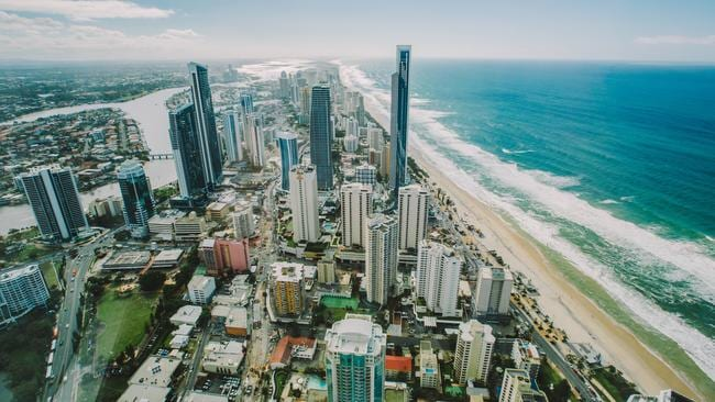 So hot. Queensland's Gold Coast is a tourist magnet. Picture: Tourism Australia