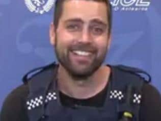 NZ Police officer reads a mean tweet.