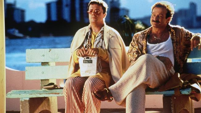 Nathan Lane and Robin Williams in The Birdcage.