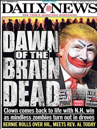 Tell us what you really think, NY Daily News.