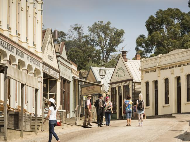 Sovereign Hill promises a step back in time.