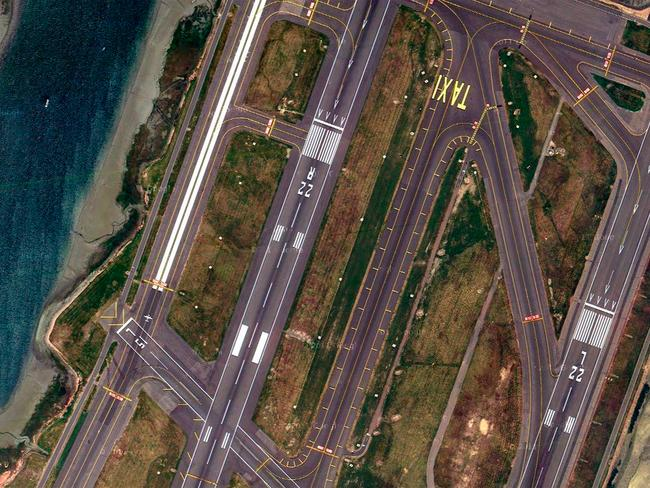 Logan International Airport, Boston, US. Picture: Lauren O'Neil