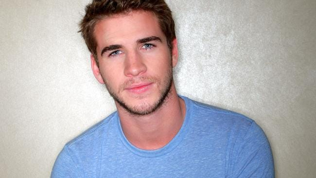 Australian actor Liam Hemsworth.