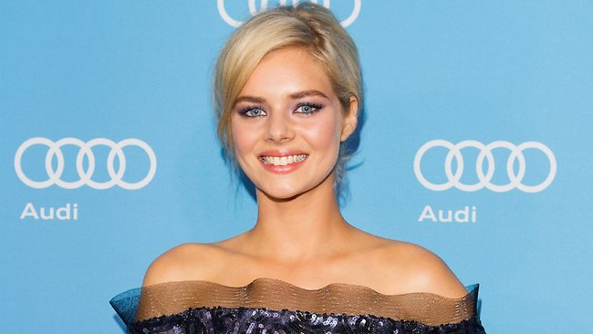 Samara Weaving at the world premiere of Mystery Road at the Sydney Film Festival. Picture: Getty Images