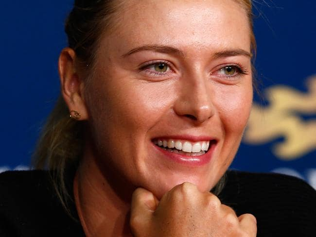 Maria Sharapova won the US Open in 2006.