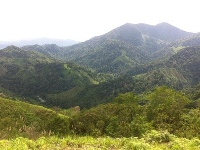 Incredible views of the Colombian wilderness. Picture: tommy Walker