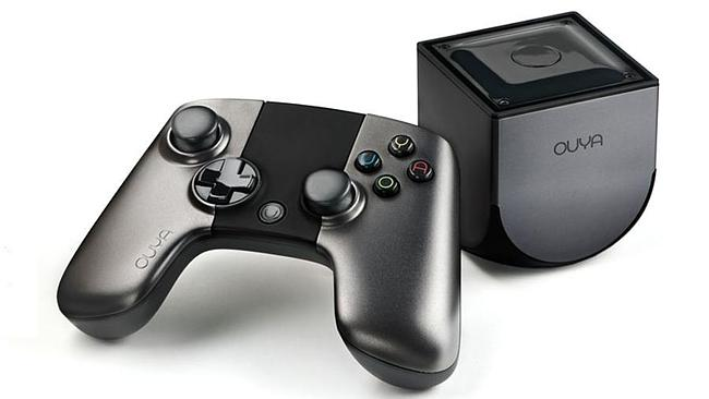 Ouya ... a video game console which is can run on Android. Picture: Ouya Inc