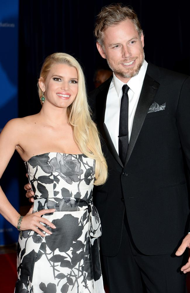 Jessica Simpson married Eric Johnson this week. Picture: Getty Images