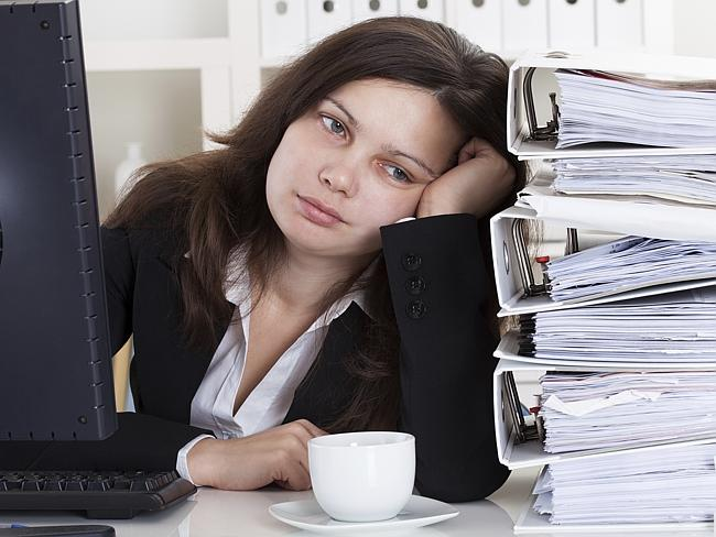 Presenteeism is when sick workers turn up when they really should be at home.