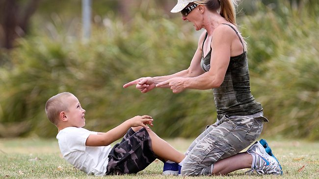 Children as young as 2 enrolled in boot camp to stop ...