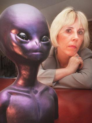 Mary Rodwell, director of Australian Close Encounter Resource Network, believes aliens exist.