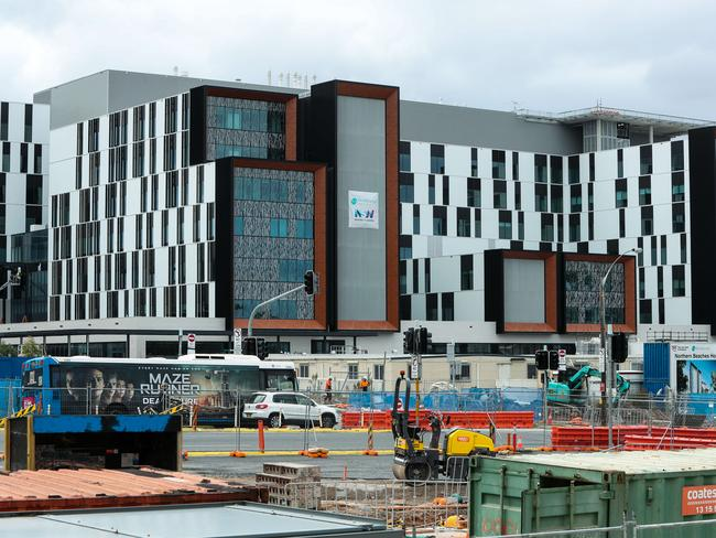 The new northern beaches hospital due to open in October 2018.