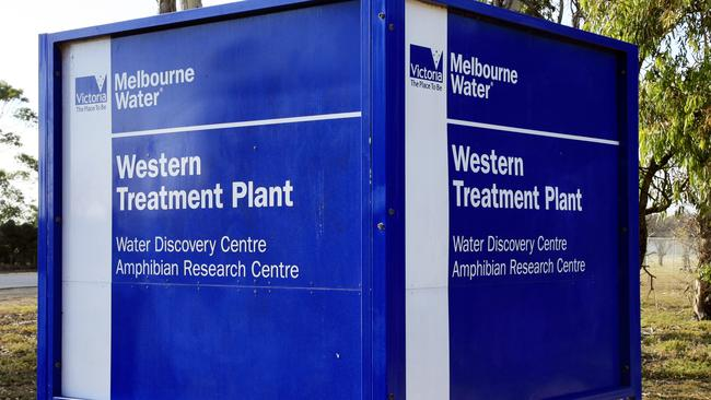 The highest traces of ice were found in samples taken from Werribee's Western Treatment Plant.
