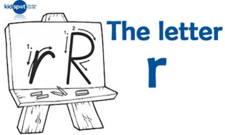 Handwriting: The letter r