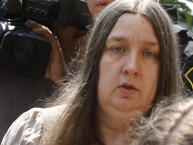 Charged ... Deana Beighly is the young boy's grandmother. Picture: AP