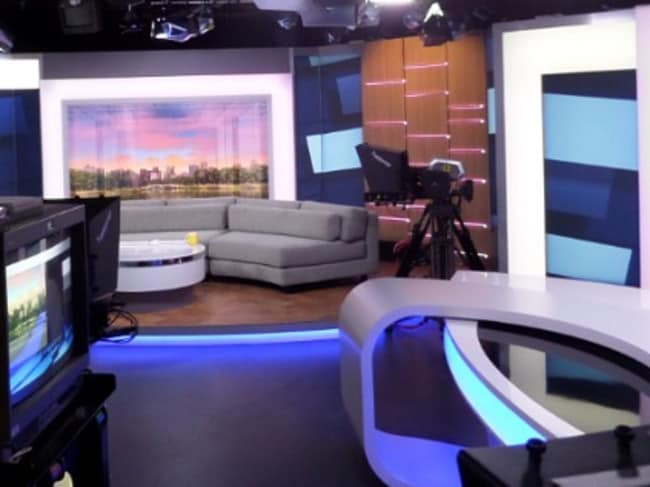 The ABC Breakfast studio: an intimidating place for those unused to live TV.