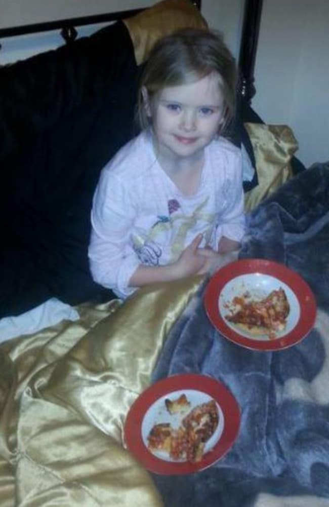 Dad Bill posted this photo of Mylee less than an hour before she was fatally stabbed.