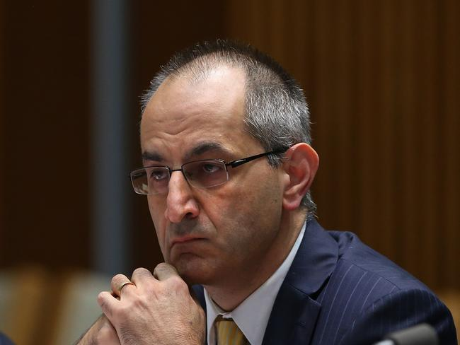 Department of Immigration and Border Protection secretary Michael Pezzullo has confirmed the US vetting process has not yet started.