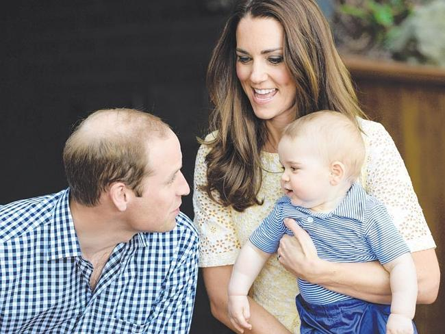 New Life ... Since their wedding three years ago, William and Kate have welcomed Prince G