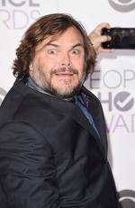 Jack Black hams it up as he attends the People's Choice Awards 2016. Picture: Jason Merritt/Getty Images