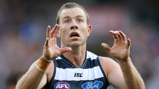 It's time Steve Johnson played for Geelong, says Mark Robinson. Picture: Wayne Ludbey