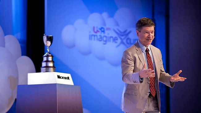 Jeffrey Sachs Imagine Cup