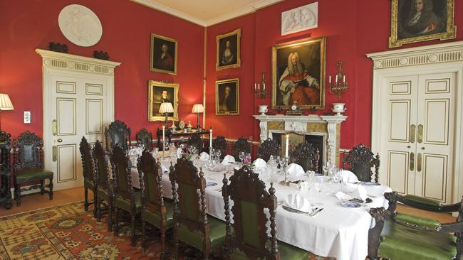 Plenty of room for a dinner party in Glin Castle. Picture: Christies International Real Estate.