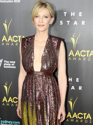Cate Blanchett at the 2014 AACTA Awards.