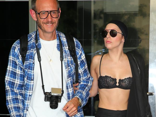 Lady Gaga with Terry Richardson.