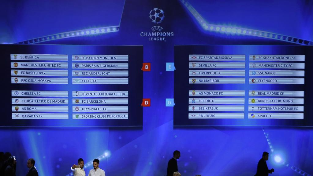 Champions League Draw: Champions League Draw: Winners, Losers And Who Drew The