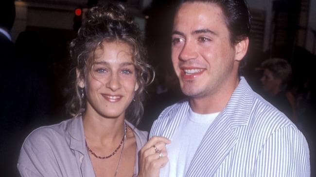 Sarah Jessica Parker and Robert Downey Jr in 1989. Picture: Barry King/WireImage