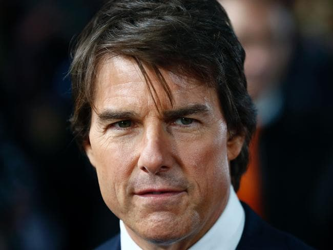 US actor Tom Cruise was said to be surrounded by Scientologists at his home. Picture: AFP/ Odd Andersen