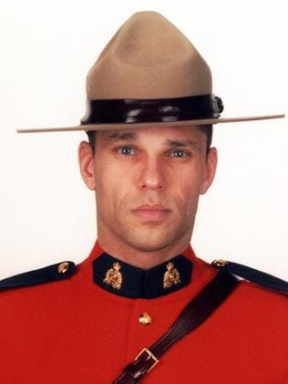 Immigrated from France ... Constable Fabrice Georges Gevaudan, 45, also shot dead.