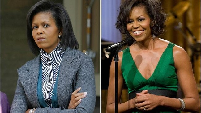 The First Lady's toned arms have always been the subject of attention