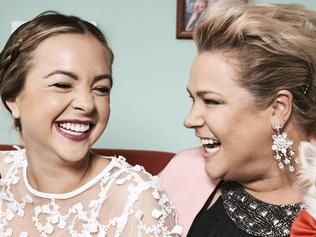 EMBARGO APPLIES - DO NOT PUBLISH BEFORE 4 MAY 2016 - SWITCHED ON COVER IMAGE .. Angie and Yvie from Gogglebox. Picture: Supplied