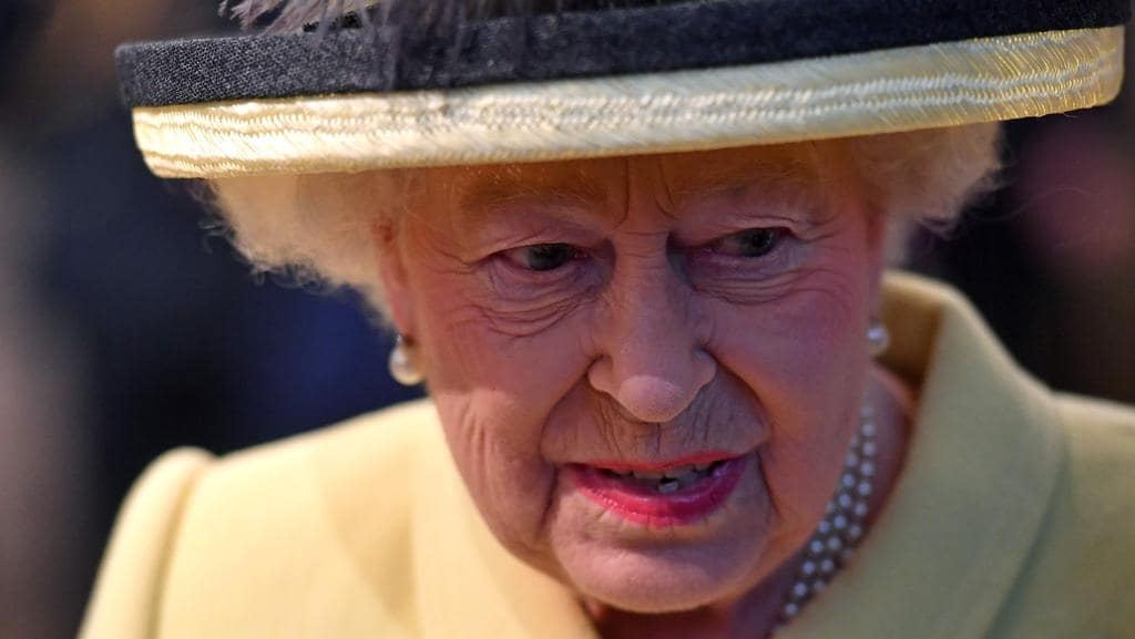 The Queen attends a Commonwealth Day Service at Westminster Abbey in London. Picture: AFP/ben Stansall