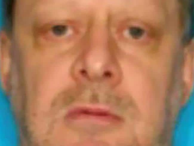 "Stephen Paddock reportedly acted out violent sexual fantasies and bragged he was ""born bad"". Picture: AFP"