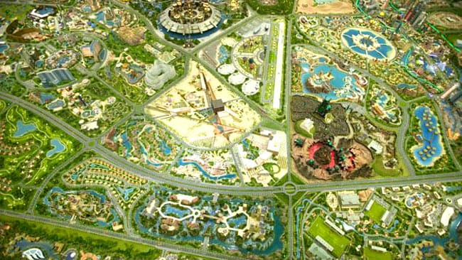 The Dubailand project will include ships, hotels and restaurants. Picture: Supplied