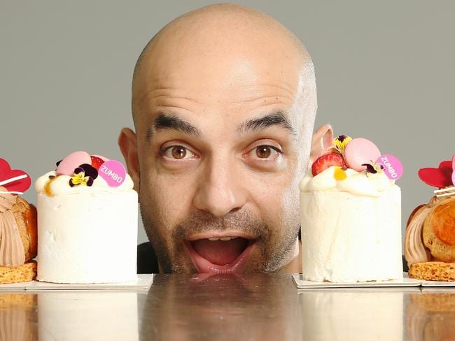 Adriano Zumbo starred in his own TV show Zumbo's Just Desserts. Picture: Adam Taylor