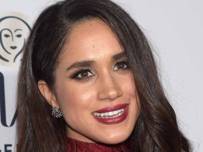 Meghan Markle has opened up about her relationship with British royal Prince Harry. Picture: AFP