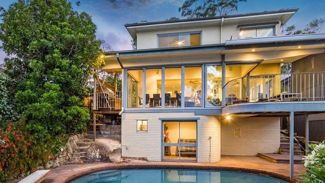 THE prestige home at Lodge Rd, Cremorne didn't make it to auction. Picture: Supplied