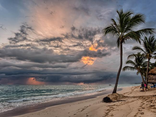Sunrise on Bavaro in the Dominican Republic. Picture: Joe deSousa