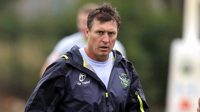 Former Canberra Raiders coach David Furner.