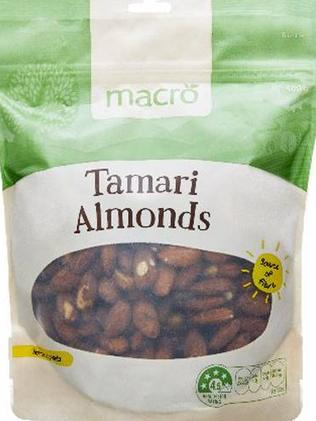 Tamari almonds are very more-ish.