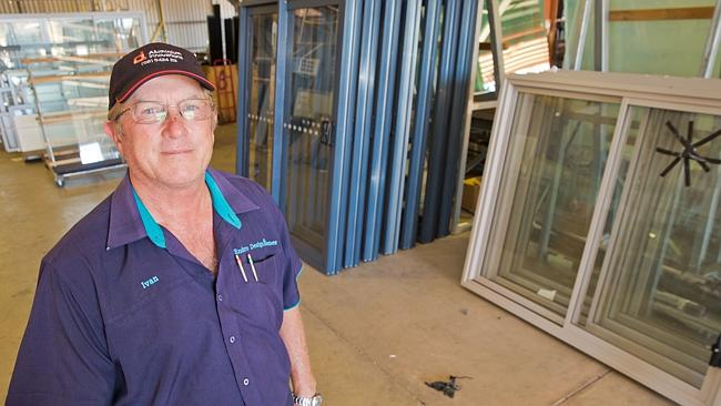 Ivan Traeger from Pilbara Glass. Picture: Margaret Bertling.
