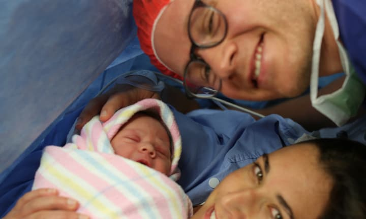 Theodore and his parents