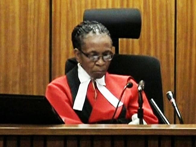 Judgment is hers ... Judge Thokozile Masipa is presiding over the Oscar Pistorius trial.