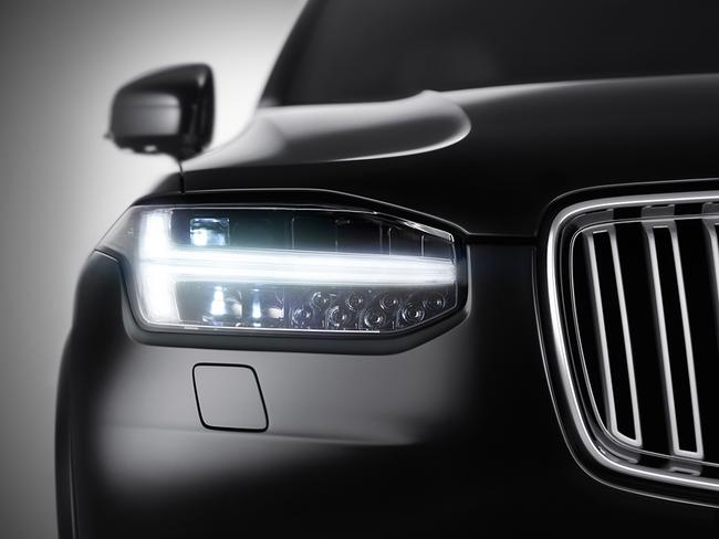All knowing ... the new Volvo XC90 is able to automatically stop, go and gently turn the steering wheel - without any input from the driver - using a hi-tech radar and camera system.