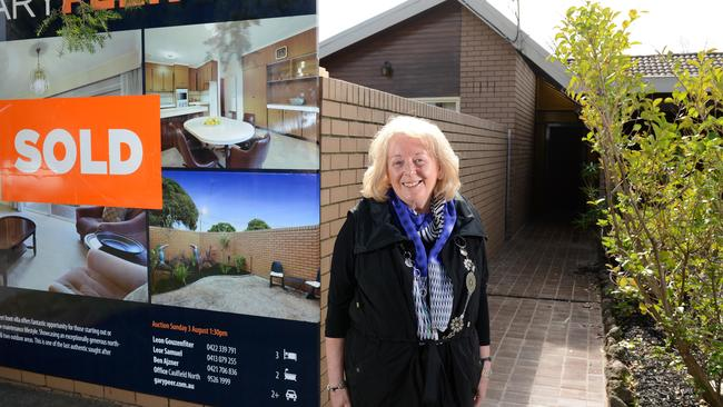 Goldie Lowe has just sold the Caulfield house her mother has owned for 40 years. Picture: Jason Sammon